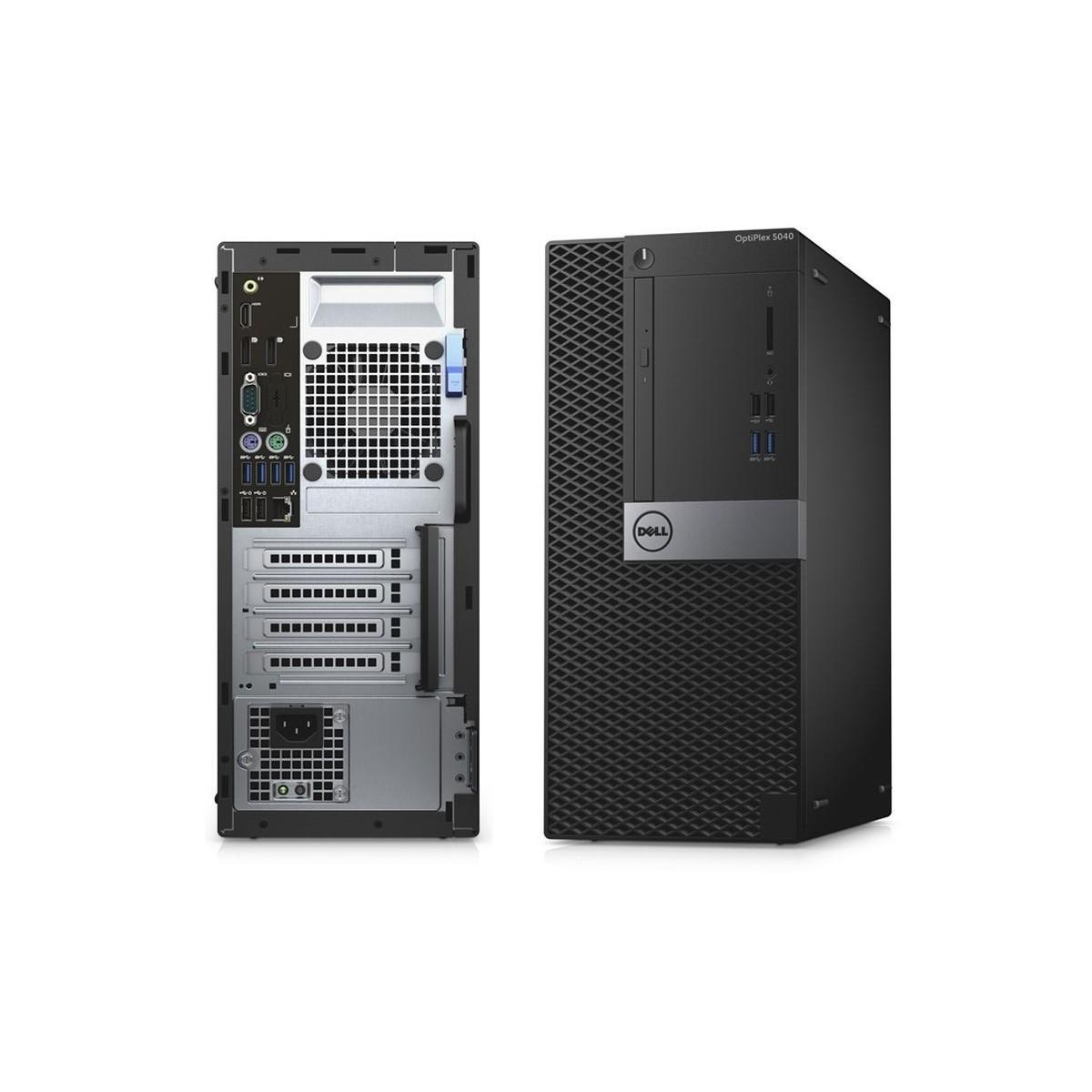 DELL 5040 MT i5-6500 8GB 500GB SSD 500GB HDD W10