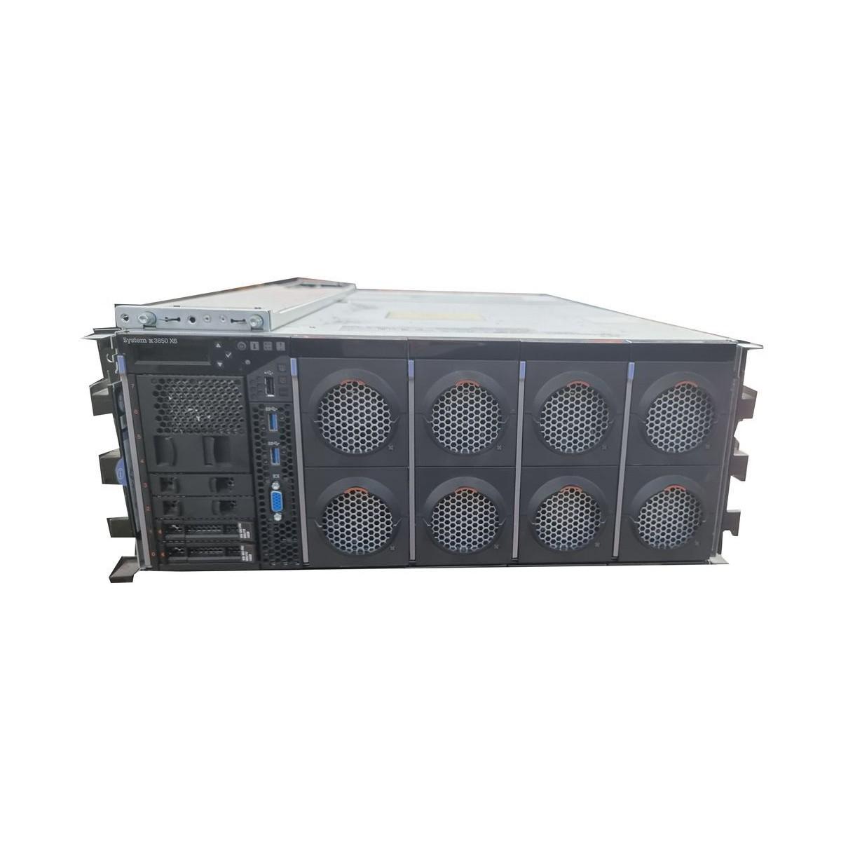 IBM x3850 x6 4xE7-4890 v2 64GB 2x500GB 2x2TB SSD