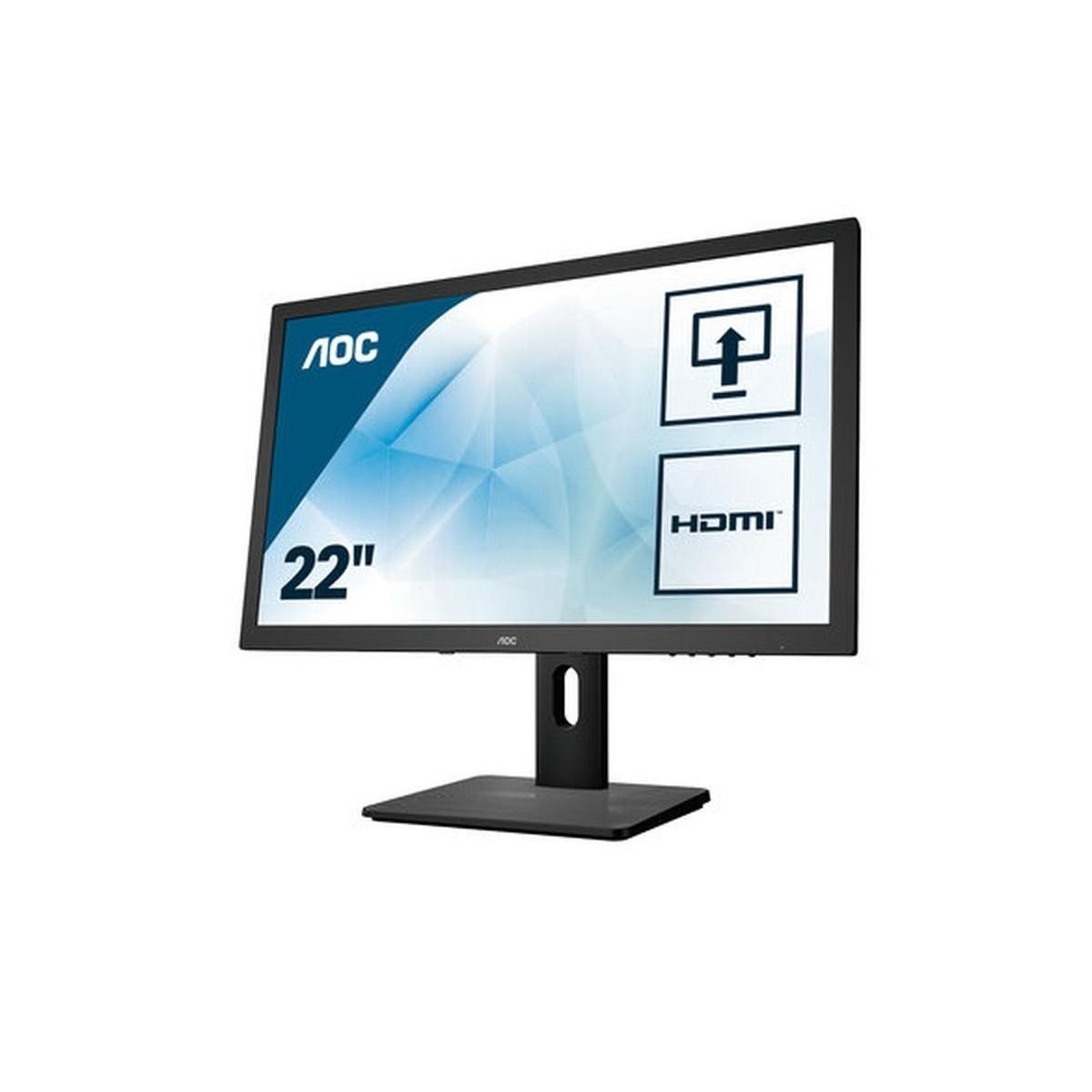 AOC E2275PWJ LED TN 22' FHD DVI VGA HDMI KL.A