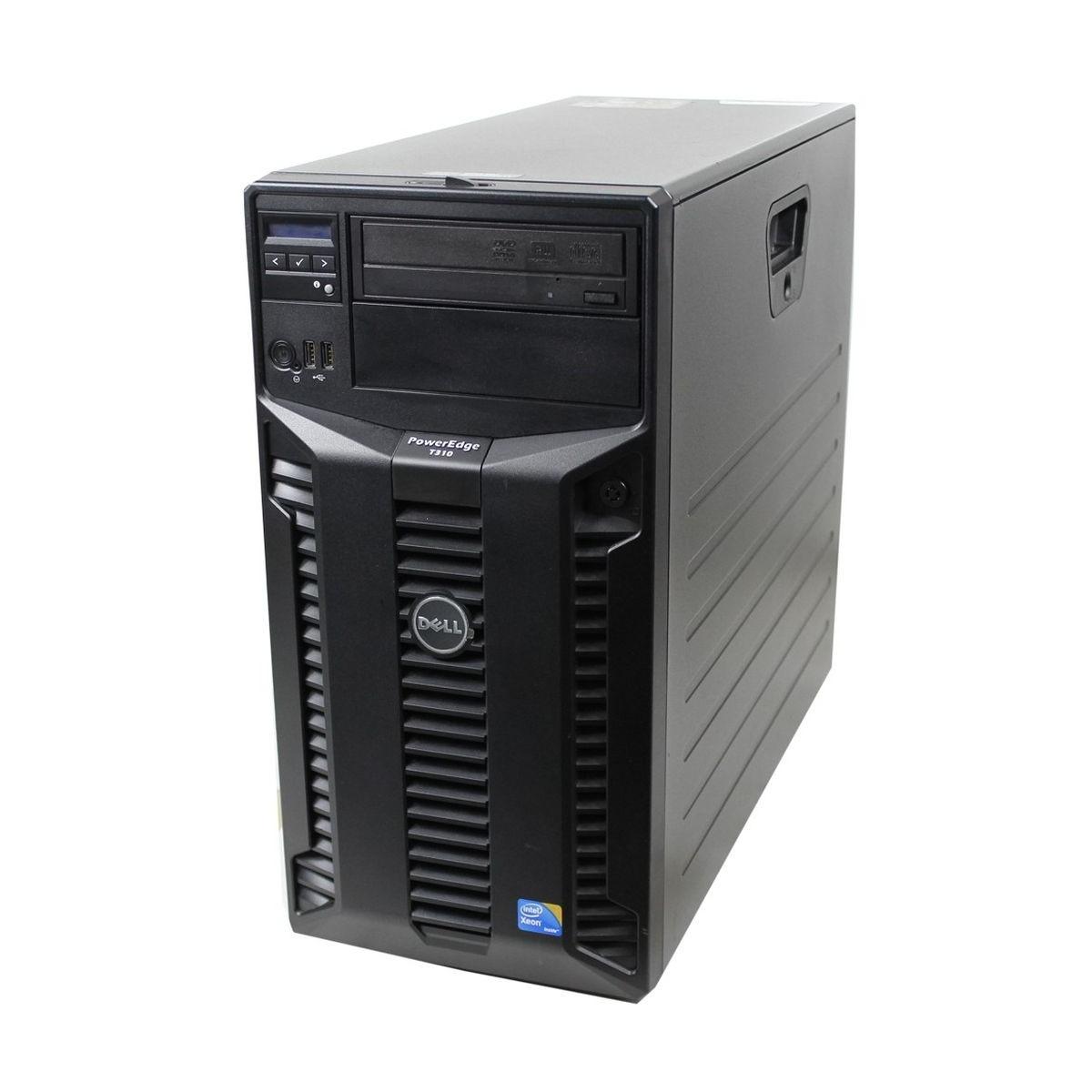 DELL T310 x3450 QC 8GB 2x500GB SSD RAID WIN10