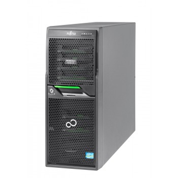 FUJITSU TX150 S8 E5 SIX 32GB 2x500GB SSD 2x3TB