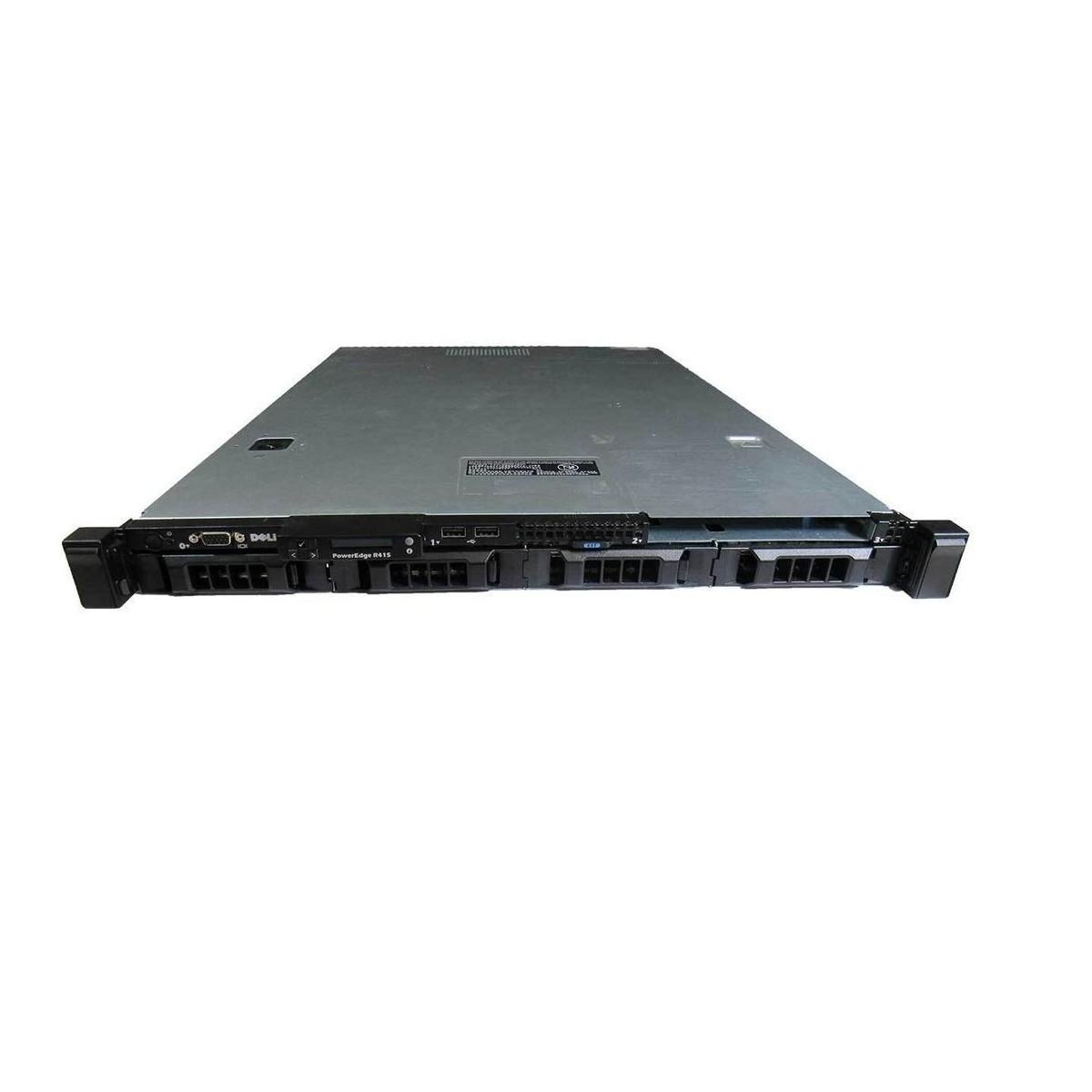 DELL R415 2x2.6GHZ SIX 16GB 2x500GB SATA PERC S100