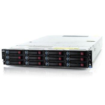 HP D2D4112 2x2,70 QC 16GB 3x2TB WD RED 2xPSU P800
