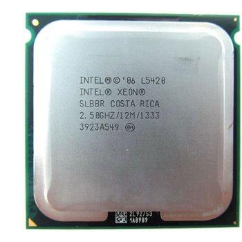 INTEL XEON L5420 QUAD CORE 2.50GHZ LGA771 SLBBR GW FV