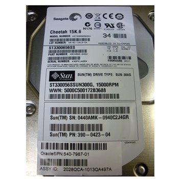 SUN CHEETAH 15K.6 300GB SAS 3G 3,5 390-0423-04