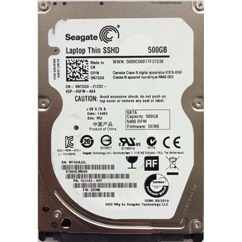 DELL SEAGATE SSHD 500GB 7mm 5.4K ST500LM000