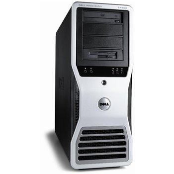 DELL T7400 2x2.33 QC 16GB 250GB FX1700 WIN10 PRO