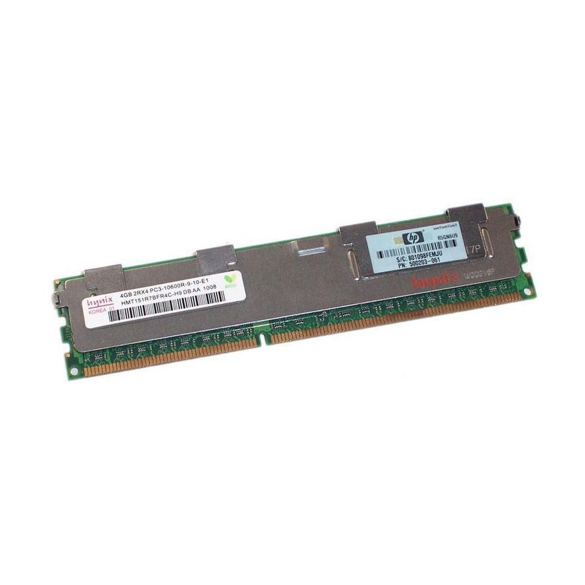 PAMIEC HP 4GB 2Rx4 PC3-10600R 500203-061