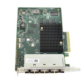 DELL SAS 9201-16E HBA 6Gbps PCIe 4xSFF-8088 0MJFDP