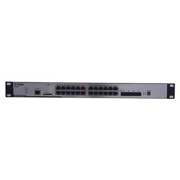 D-LINK xSTACK DGS-3120-24TC 24x1GB 4xSFP USZY