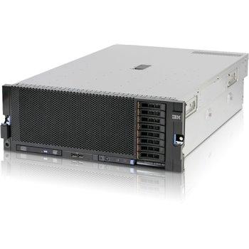IBM x3850 x5 4x8CORE x7560 512GB RAM 8x1TB M5015
