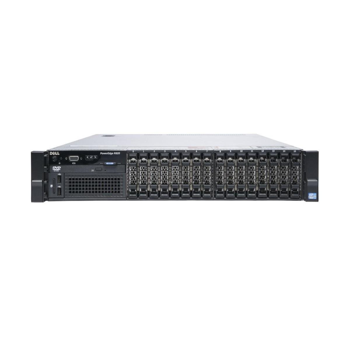 DELL R820 4xE5-4620 8CORE 64GB 2xSSD 2xSAS H710