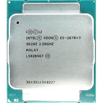 INTEL XEON E5-2678 v3 12 CORE 2,5GHZ LGA2011-3