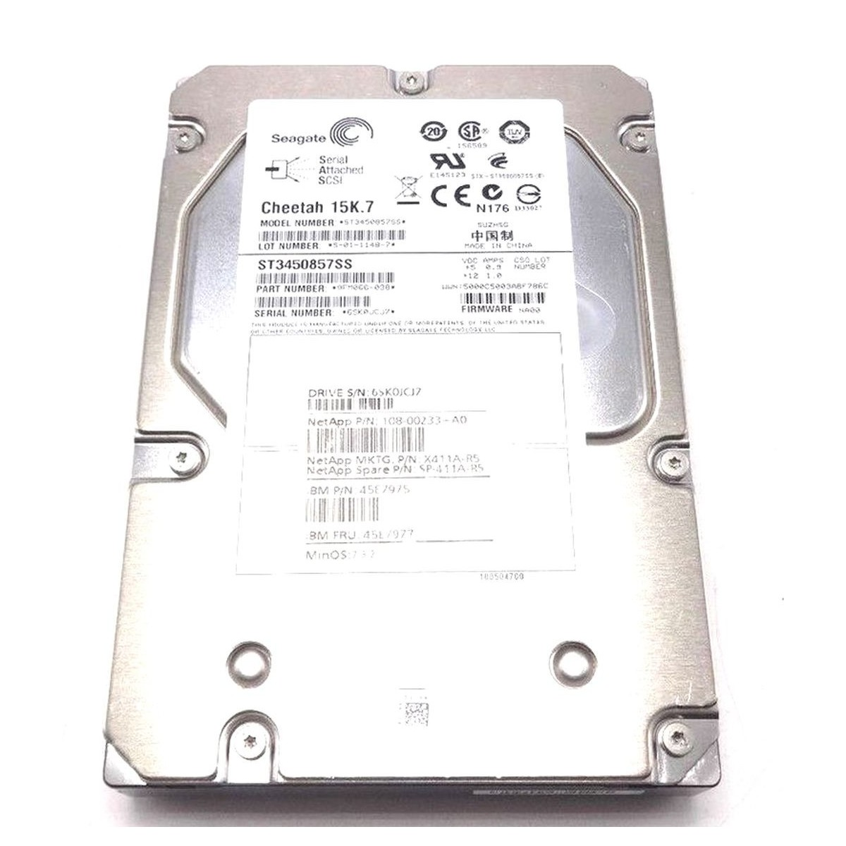 SEAGATE CHEETAH NS 400GB SAS 3,5 10K DO DELL HP IBM
