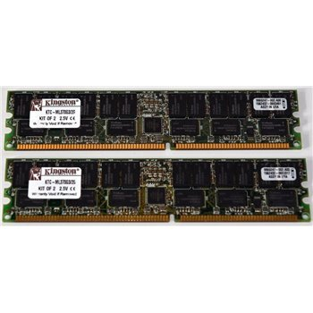 PAMIEC KINGSTON 2GB (2x2GB) KIT KTC-ML370G3/2G ECC