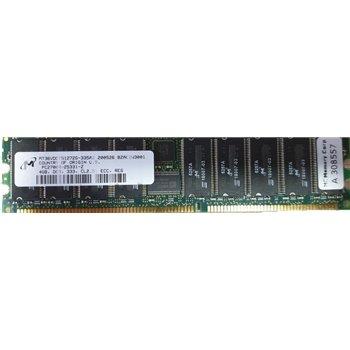 MICRON 4GB PC2700 DDR333 CL2.5 ECC RDIMM