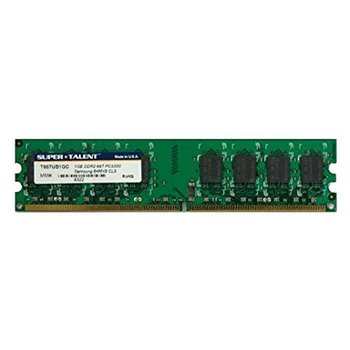 SUPER TALENT 1GB 64x8 DDR2-667 PC5300 T667UB1GC