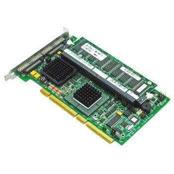 DELL PERC4 U320 SCSI PCI-x RAID 128MB BAT 0D9205