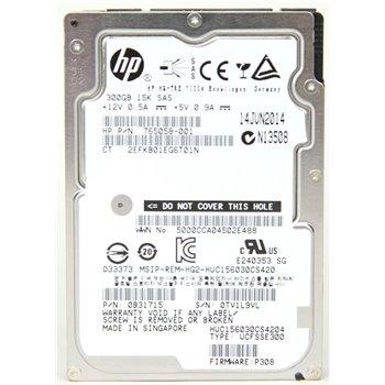 HP 3PAR 300GB SAS 15K 6G 2,5 765058-001