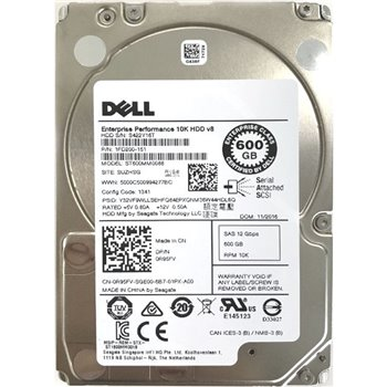 DELL ENTERPRISE 10K v8 600GB SAS 12G 2,5 0R95FV
