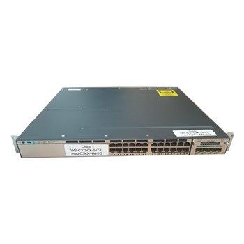 CISCO CATALYST WS-C3750X-24T-L 24x1GB USZY RACK