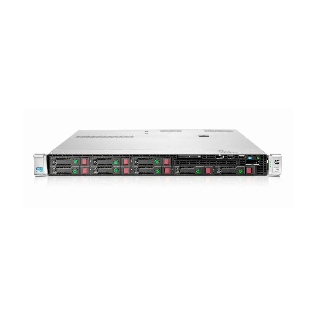 HP DL360p G8 2x2.3 SIX E5 64GB 2x500 SSD P420i ILO4
