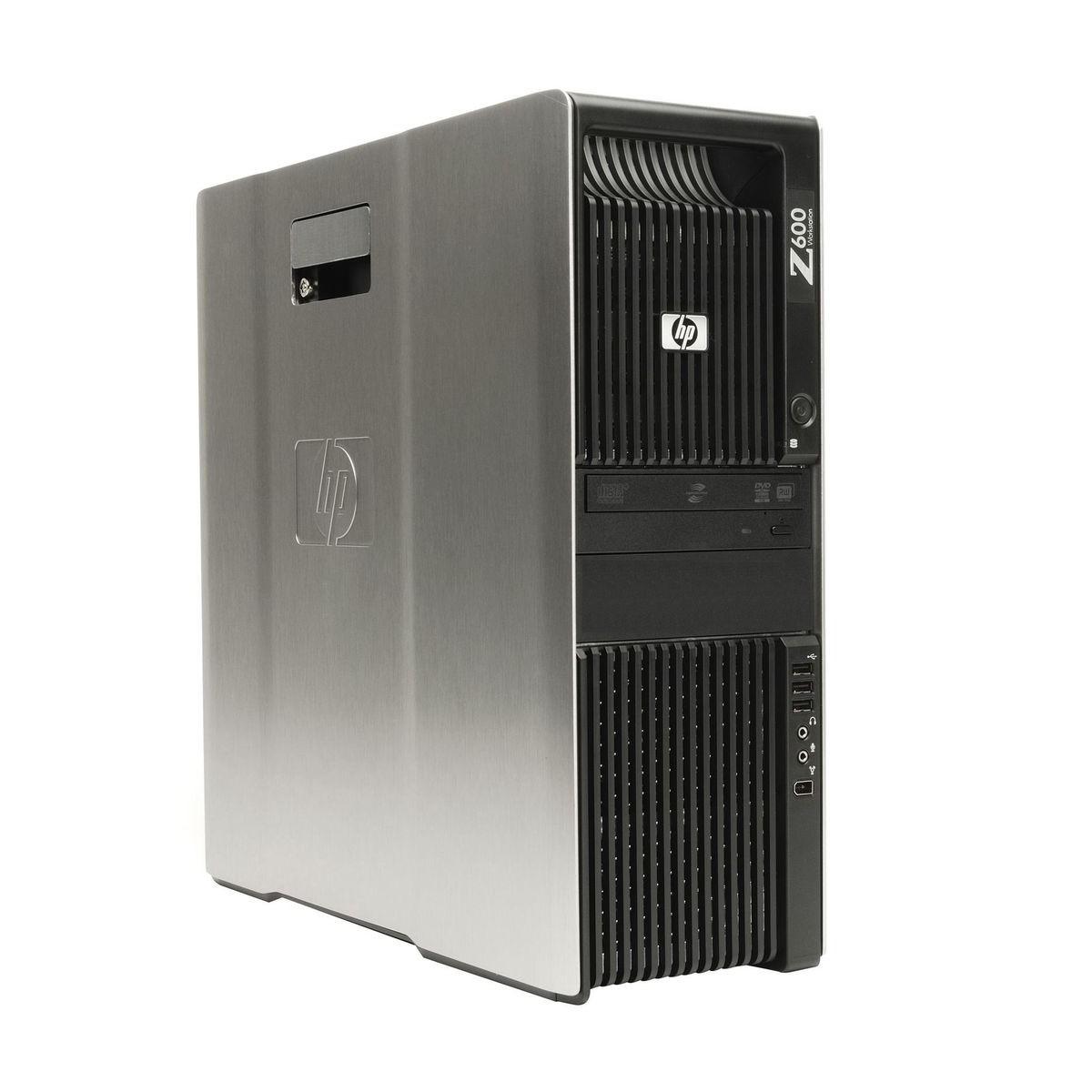 HP Z600 2.8SIX 24GB 500GB Q600 WIN10 PRO