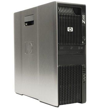 HP Z600 2.8SIX 24GB 250SSD 500HDD NVS450 W10 PRO