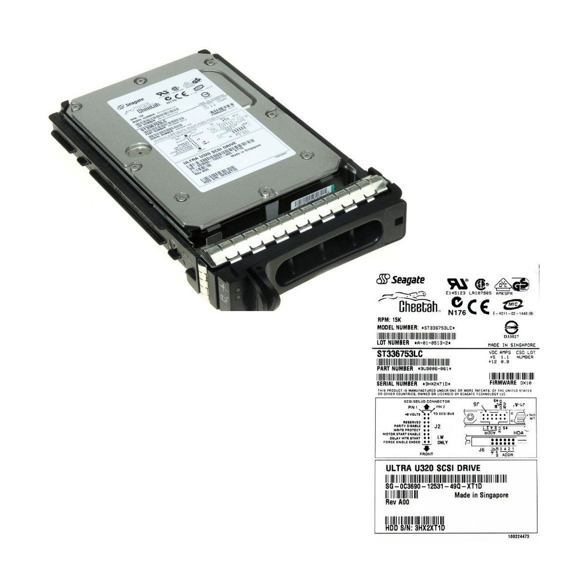 RADIATOR HP ML150 G5 450292-001 Z WIATRAKIEM