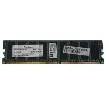 INFINEON 1GB PC2700U ECC HYS72D128320GU-6-A