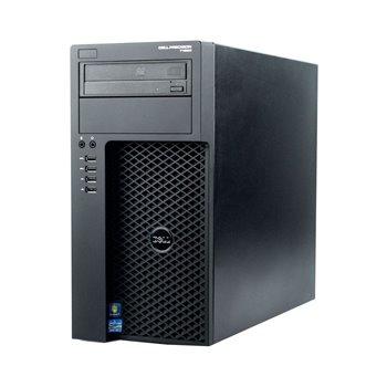 DELL T1650 3.4QC E3 v2 8GB  1TB Q600 W10 PRO REF