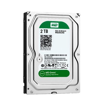 WD GREEN 2.0TB SATA 7.2K 64MB 3,5 WD20EZRX