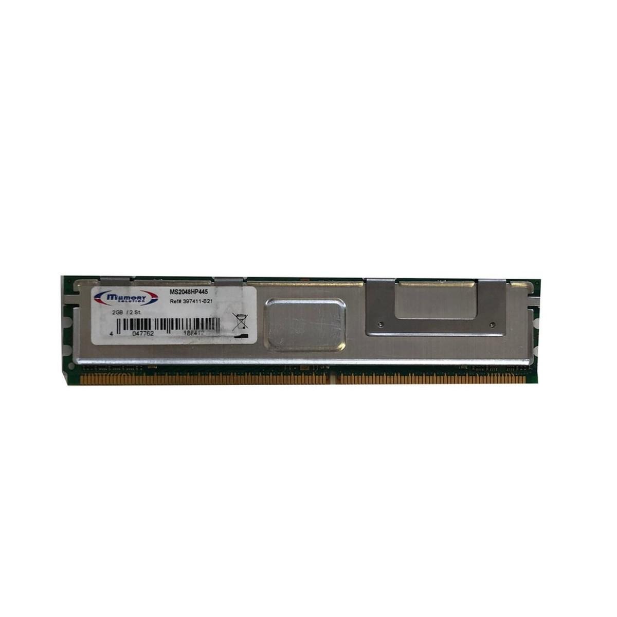 PAMIEC HP 2GB PC2-5300 FDB ECC 667MHZ 397411-B21