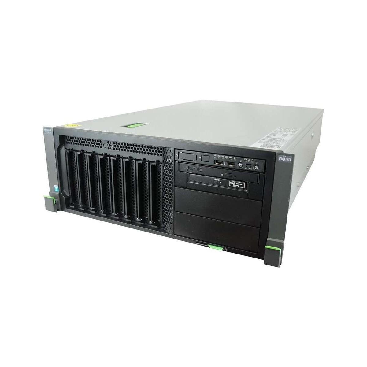 FUJITSU RX350 S8 2xE5 v2 SIX 16GB 2x300GB SZYNY