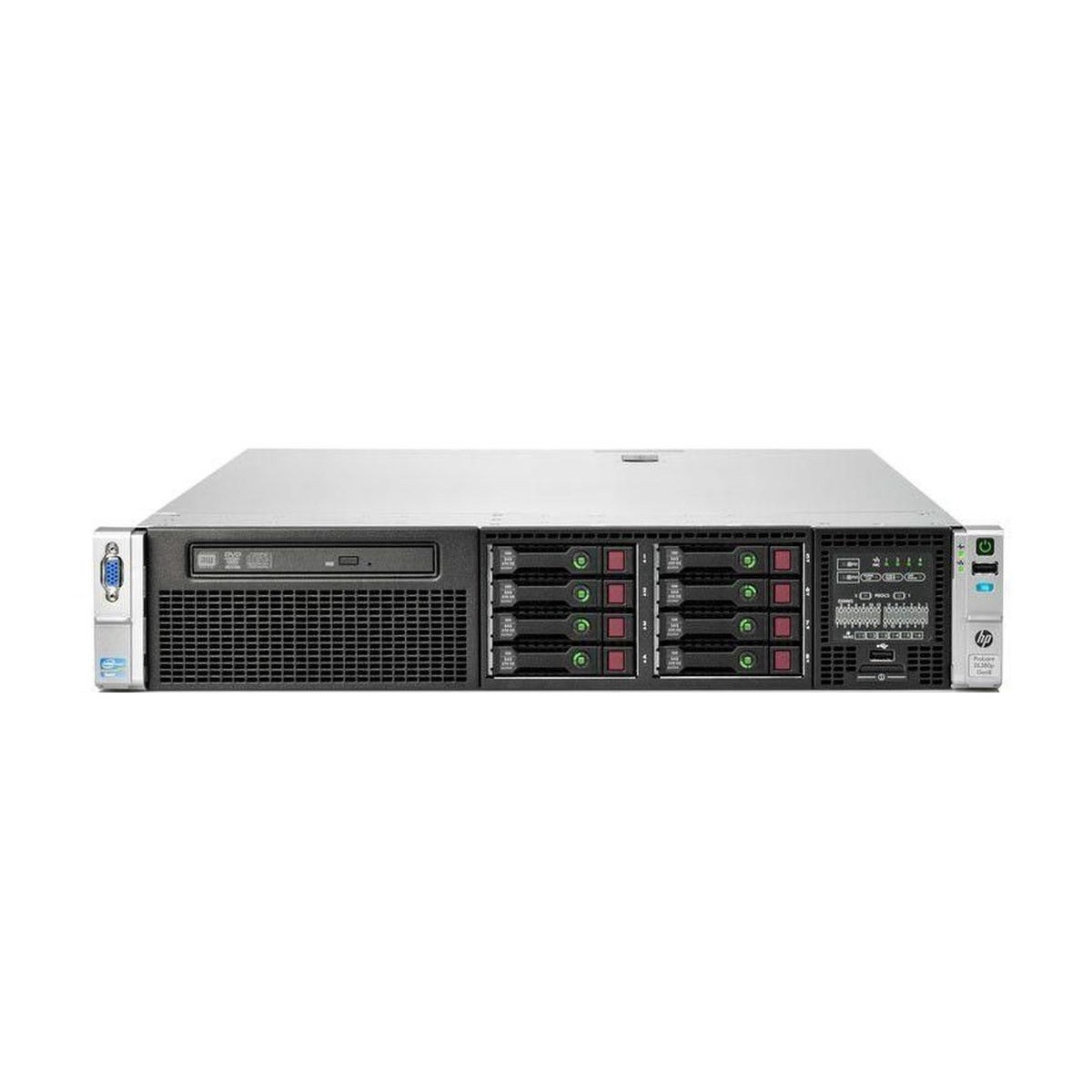 HP DL380p G8 2x2.4 E5 16GB 2x500GB SAS P420i