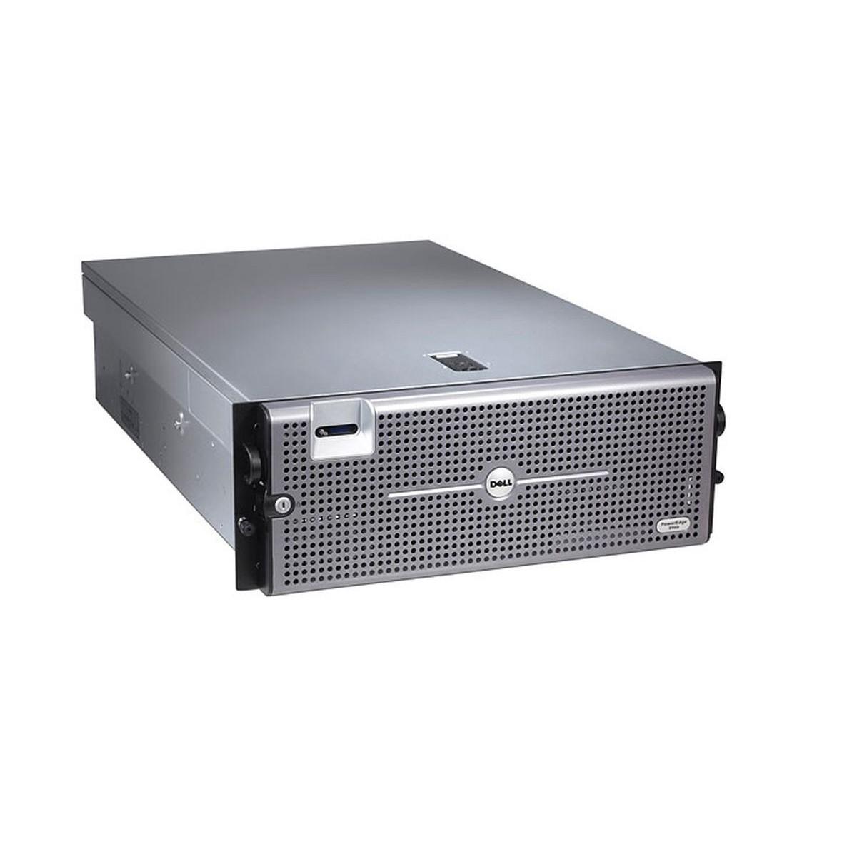 DELL R900 4x2.13 QC 32GB 4x300GB SAS 2xPSU PERC 6i