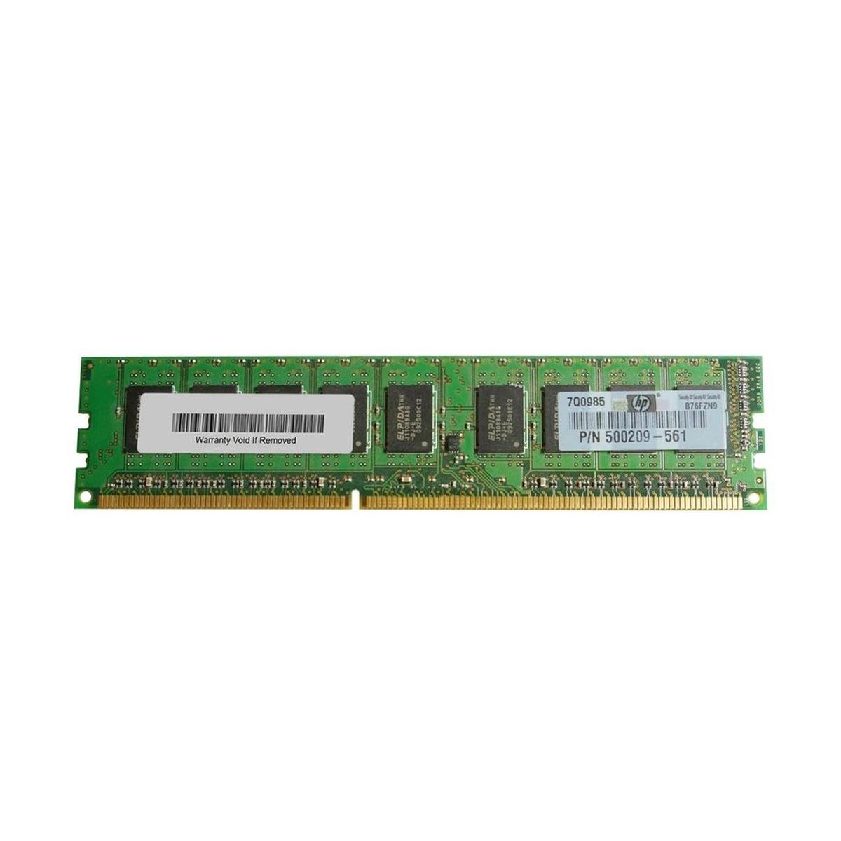 PAMIEC HP 2GB 2Rx8 PC3-10600E-9 500209-061