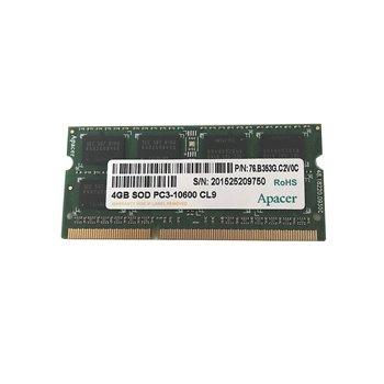PAMIEC APACER 4GB SOD PC3-10600 CL 76.B353G.C2V0C