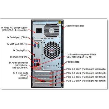 LENOVO TS150 E3-1225 v5 16GB DDR4 480GB SSD RAID