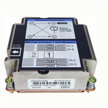 RADIATOR IBM FLEX X240 HEATSINK CPU -1 81Y4346