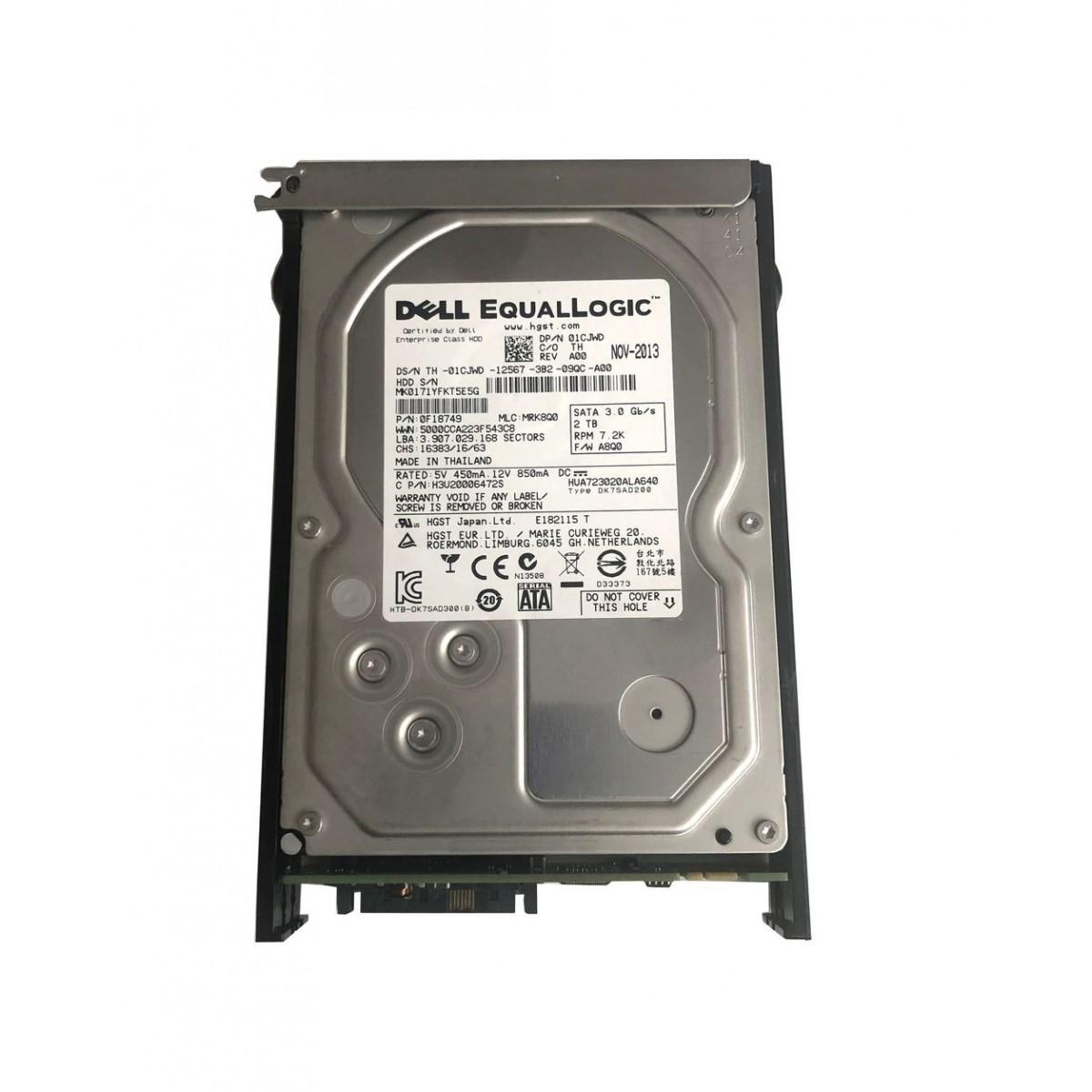 DYSK HP  HITACHI 500GB SATA 7.2K 6G 3,5 647466-001
