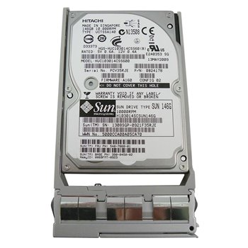 SUN HITACHI 146GB SAS 10K 6G 2,5 RAMKA 540-7868-01