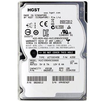 HGST HUC109045CSS600 450GB SAS 10K 6G 2,5 0B26012