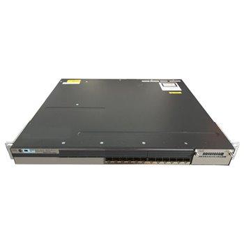 SWITCH CISCO WS-C3750X-12S-S 12x1GB 1xPSU USZY