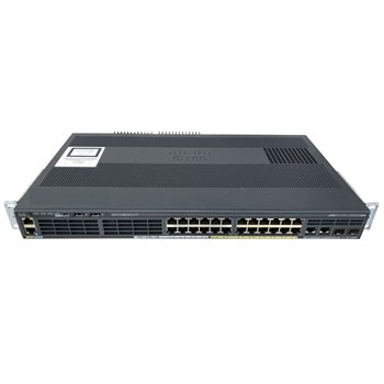 CISCO WS-C2960X-24PSQ-L 24x1GB 8xPoE 2xSFP USZY