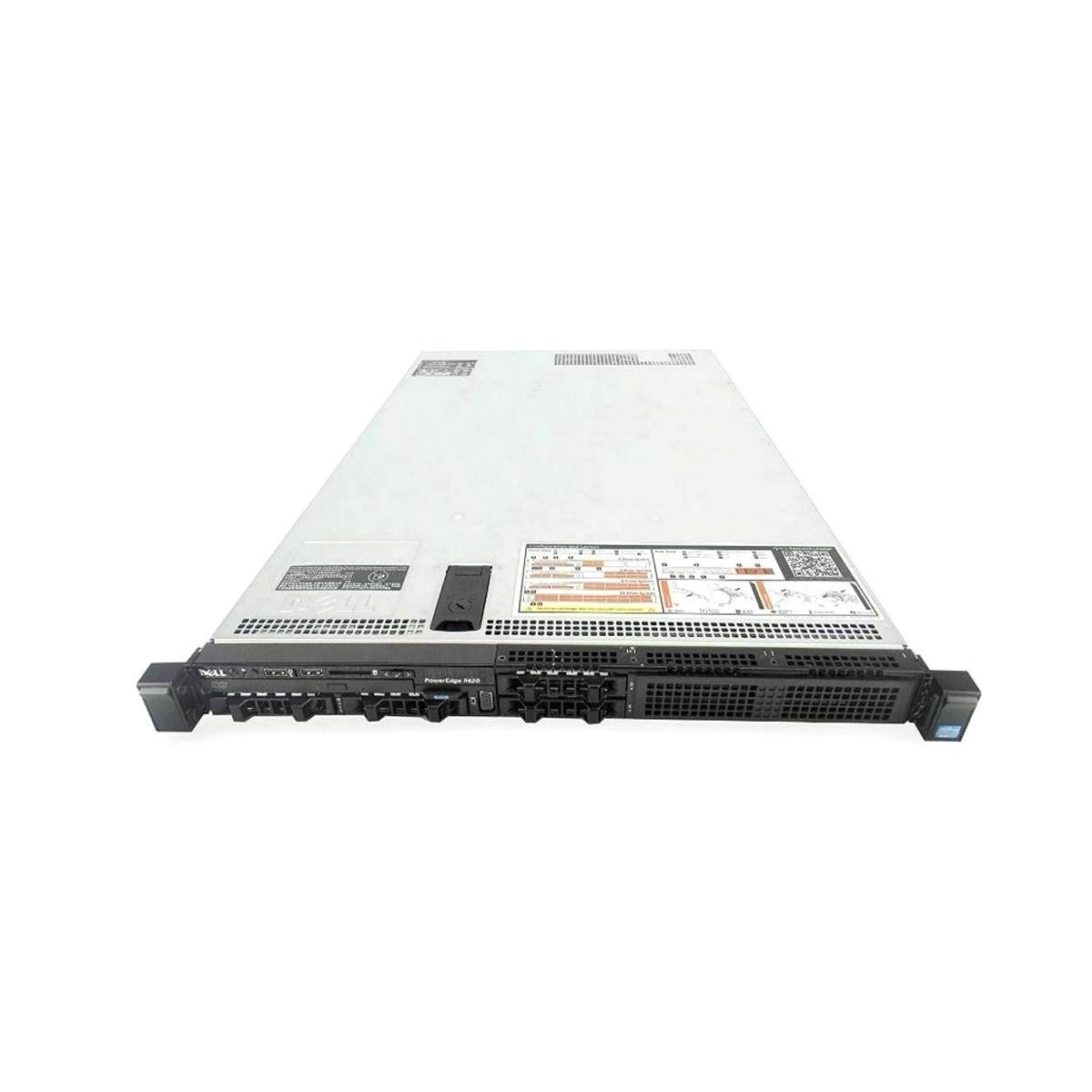 DELL R620 2xE5-2650 32GB 4x900GB SAS 2xPSU H310