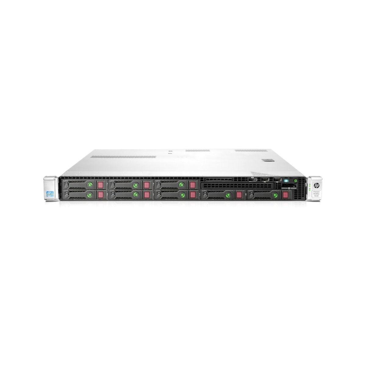 HP DL360e G8 QC E5 16GB 2x250GB SSD 2xPSU B320i