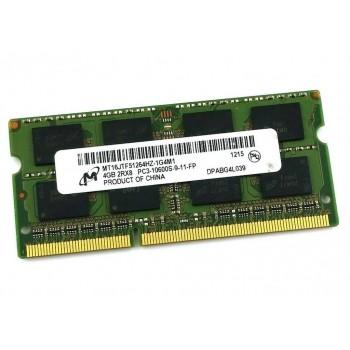 MICRON 4GB PC3-10600S SODIMM MT16JTF51264HZ-1G4M1
