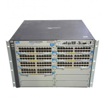 HP J8698A 7x 24PORT 1GB PoE J8702A 2xPSU USZY