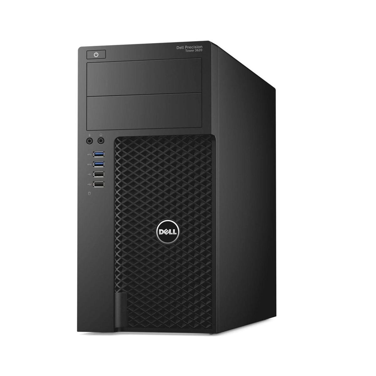 DELL T3620 E3-1240 v5 8GB 256SSD NVME W5100 W10 PR